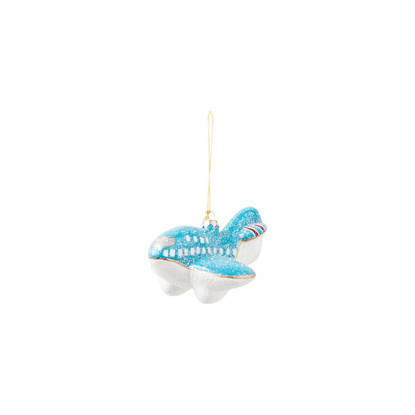 DOWN TO THE WOODS Glitter toy Plane Decoration