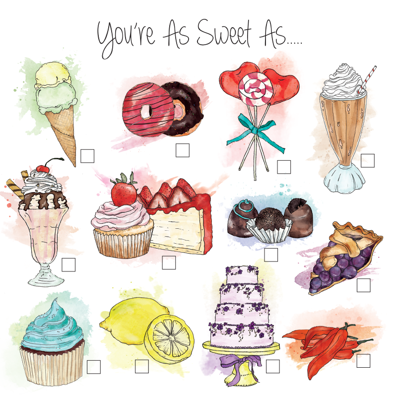 LA LA LAND- You're as Sweet As Complete Me Card