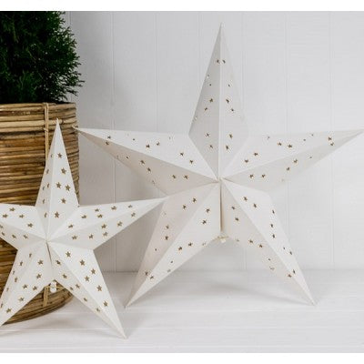 Mediterranean Markets-Star - White 60cm