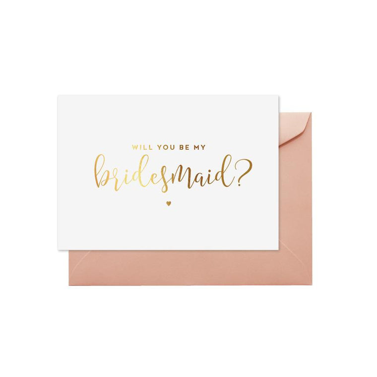 ELM PAPER-Will you be my bridesmaid card