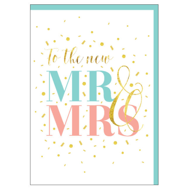 CANDLEBARK WConfetti Couple card