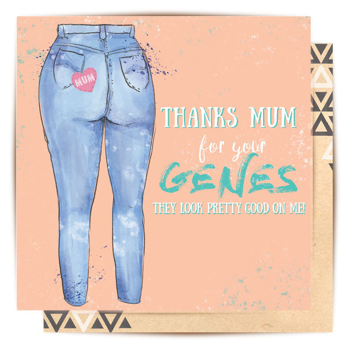 LA LA LAND-Mum Genes Greeting Card