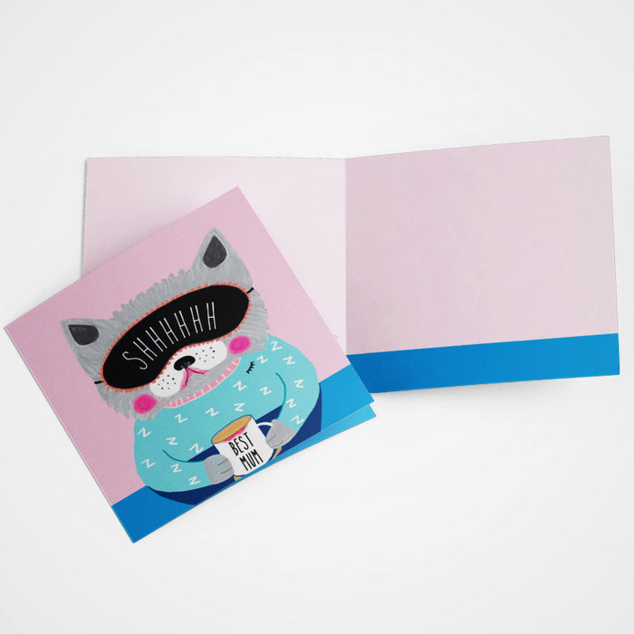 LA LA LAND-Best Mum Cat card
