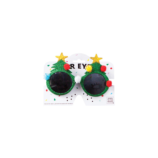 Down to the Woods - For eyes glasses-Christmas tree green