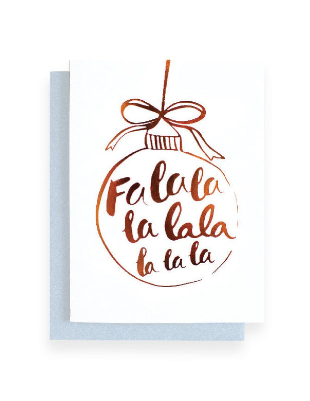 Blushing confetti- Falala Greeting Card