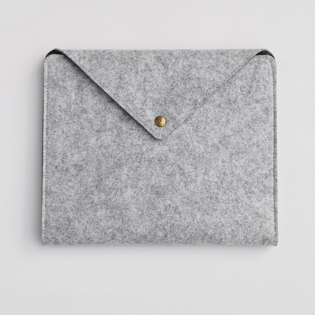Moose Felt iPad/Tablet Holder- Light Grey