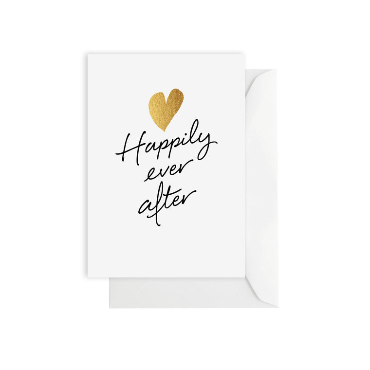 ELM PAPER-Happily ever after card