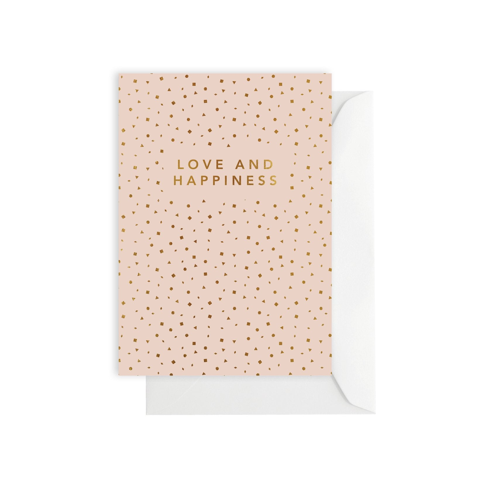 ELM PAPER-love and happiness card