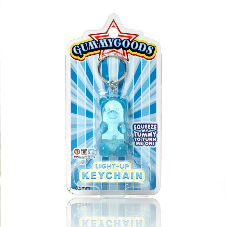 GUMMYGOODS Key Ring - Blue Raspberry