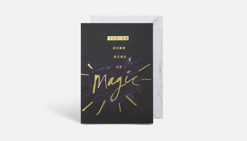 Blacklist Greeting Card - Magic