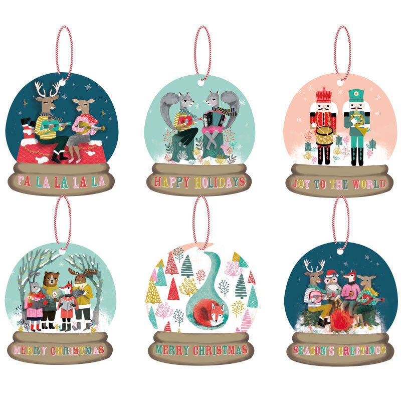 LA LA LAND-Christmas carols Gift Tag