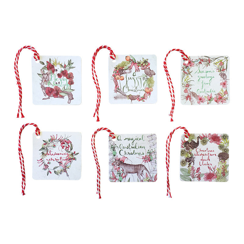 LALALAND- gift tag Set of 6- Australiana