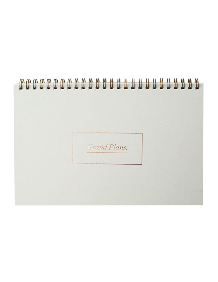 Blushing confetti 'Grand Plans' Weekly Planner