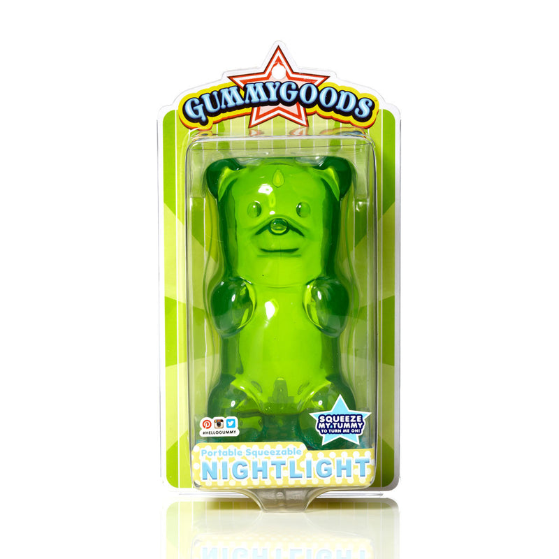 GUMMYGOODS- Gummy Bear Night Light-Green Apple
