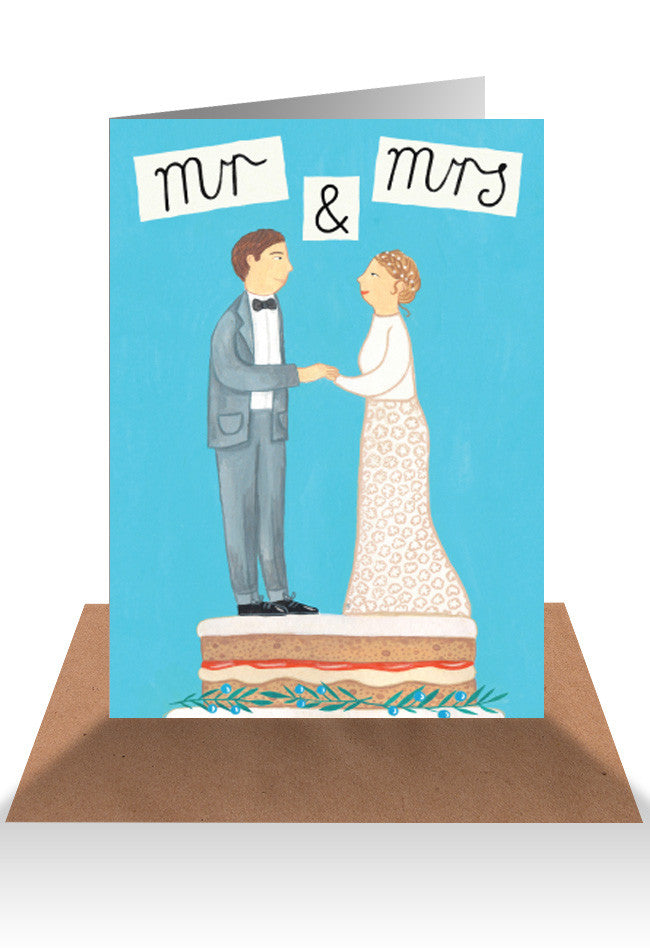 AHD Mr & Mrs card