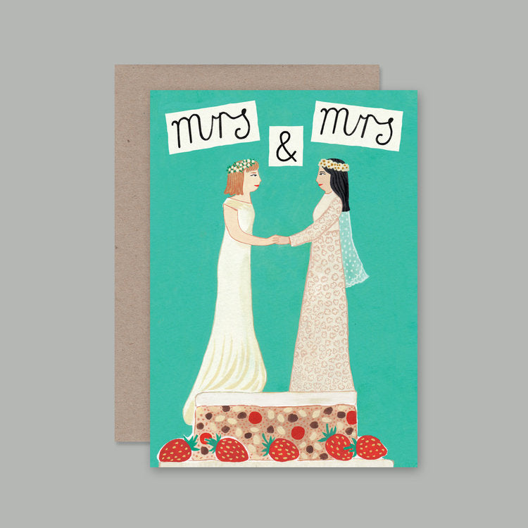 AHD Mrs & Mrs card