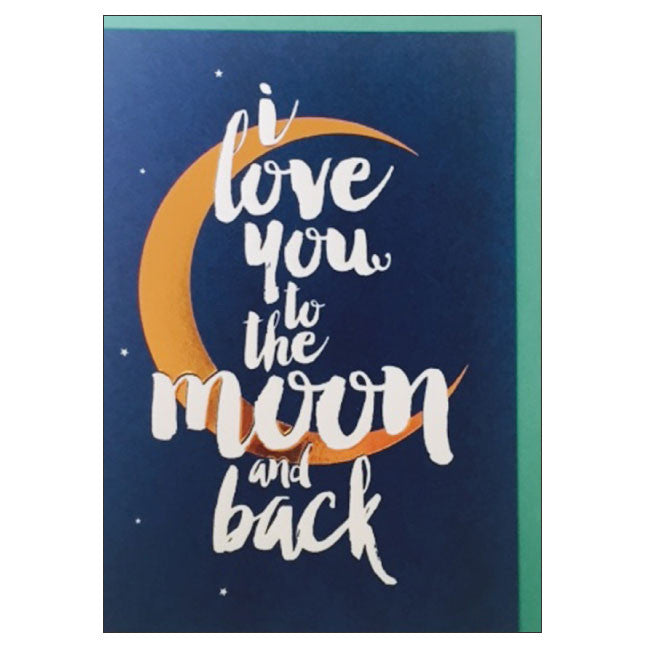CANDLEBARK Moon and Back card