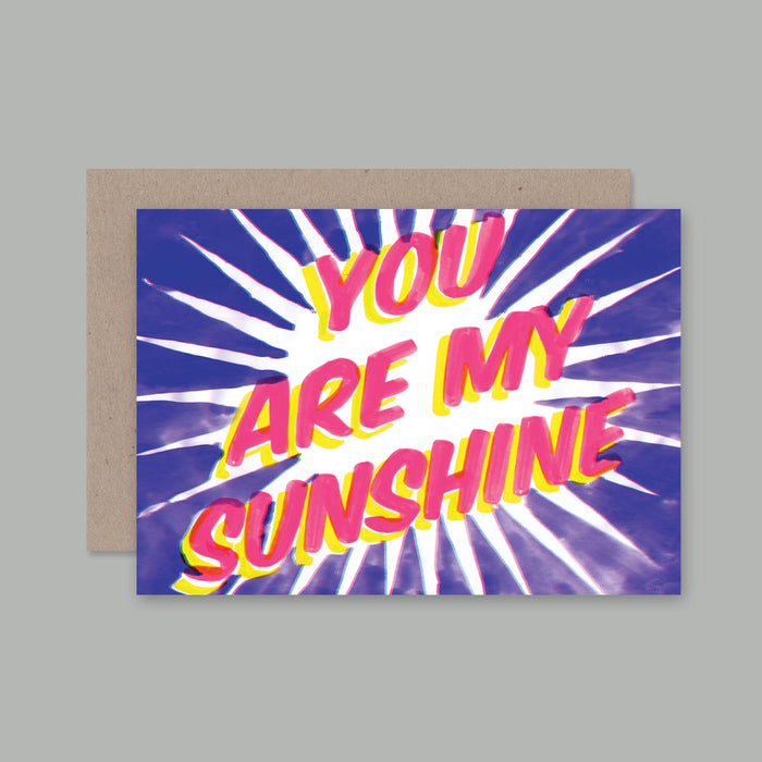 AHD Sunshine greeting card