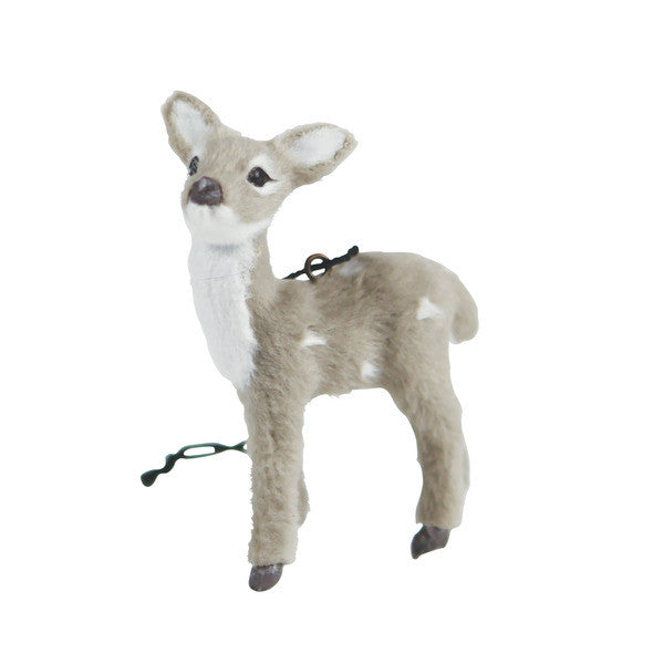 DOWN TO THE WOODS Fawn Decoration Grey