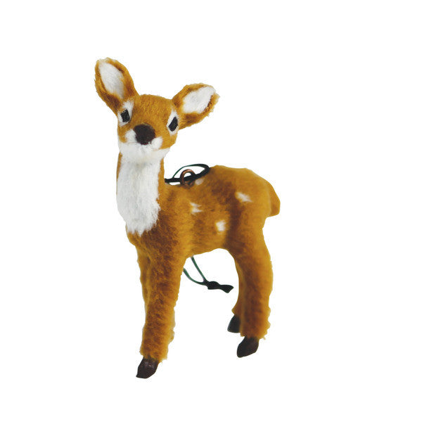 DOWN TO THE WOODS Fawn Decoration Natural