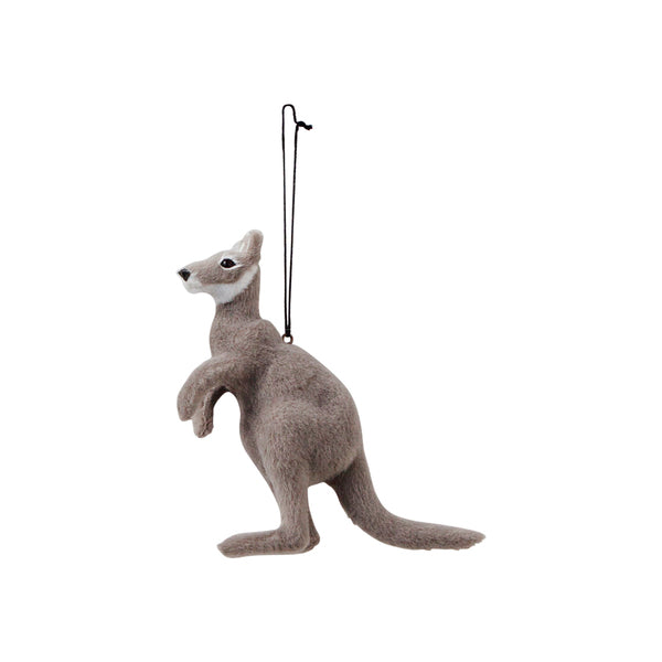DOWN TO THE WOODS Kangaroo Decoration-Grey
