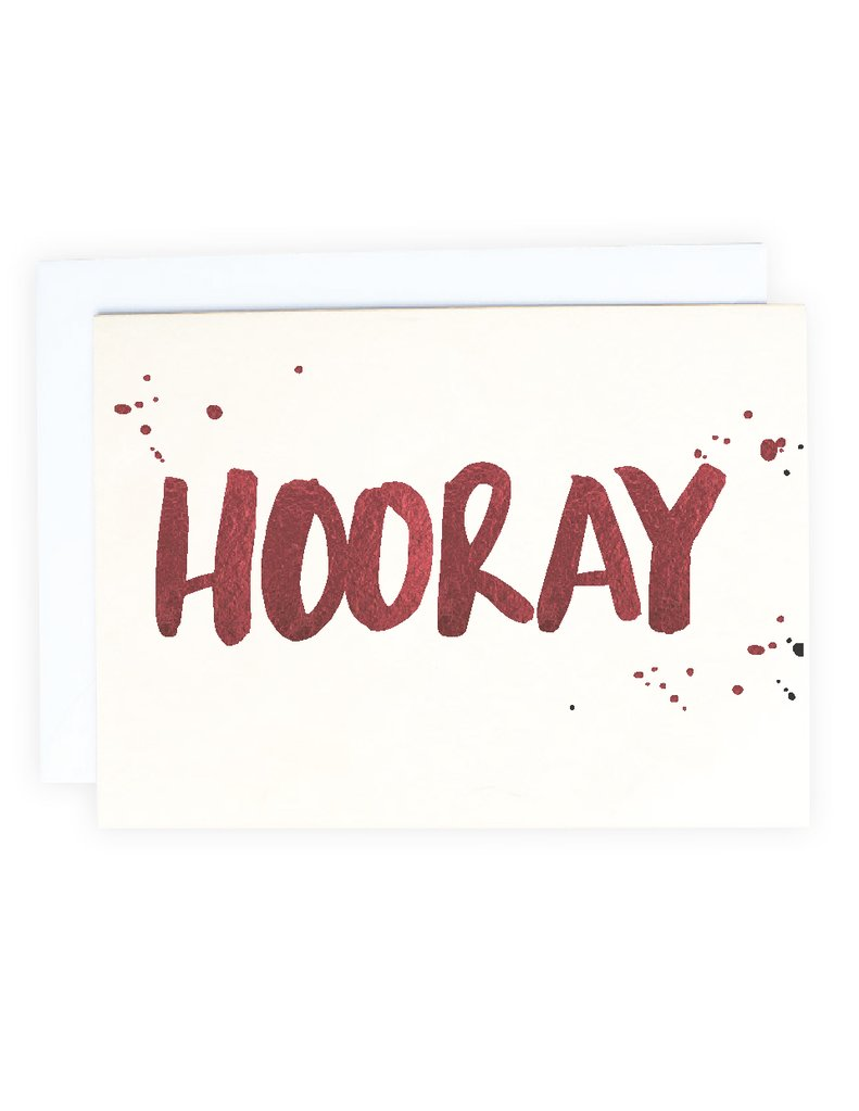 Blushing confetti- YHooray Greeting Card