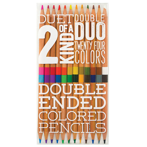Double End Colour Pencils/12