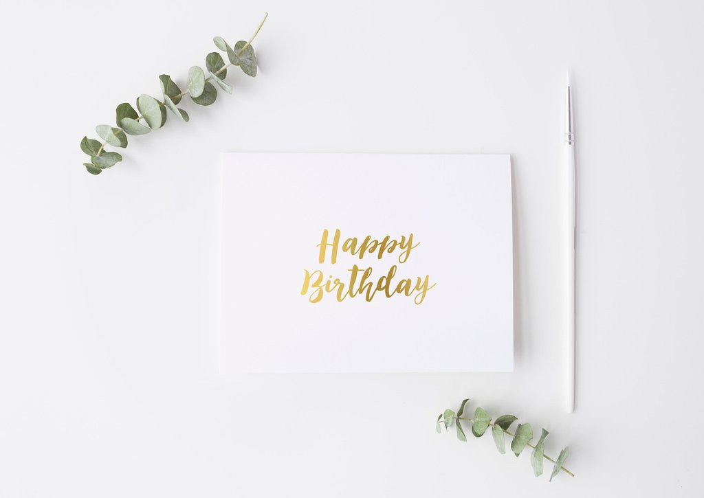 PENNEDBLACK Greeting Card - Happy Birthday