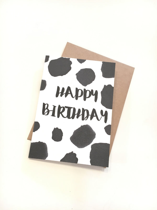 LITTLE PAPER LANE Greeting Card-Happy Birthday