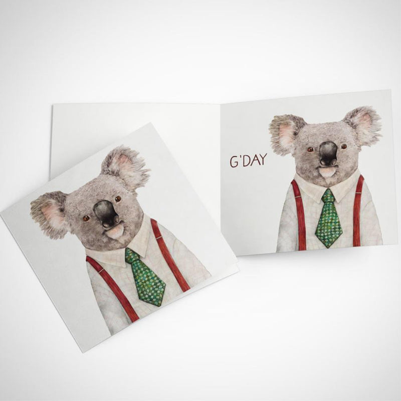 LA LA LAND-Koala greeting card
