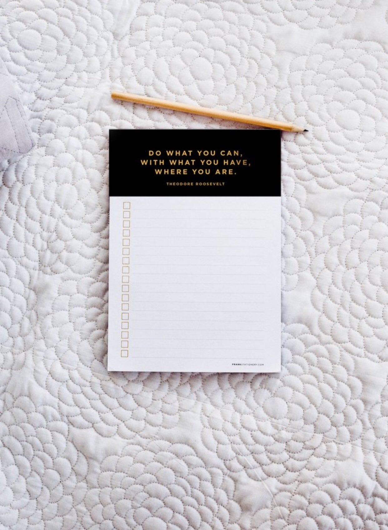 FRANK STATIONERY- List Maker | black