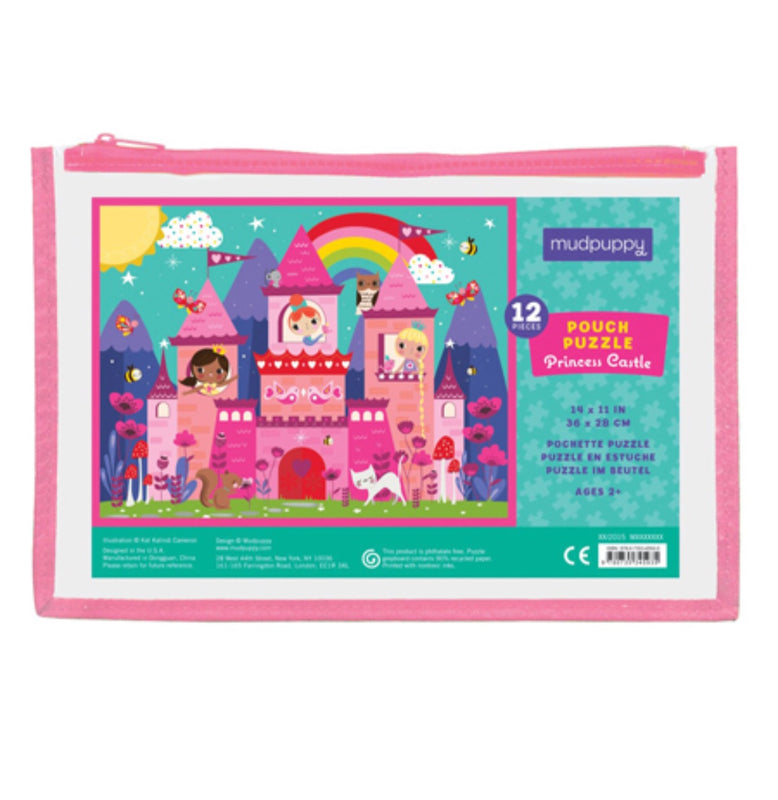 12 Piece Puzzle- Princess Castle