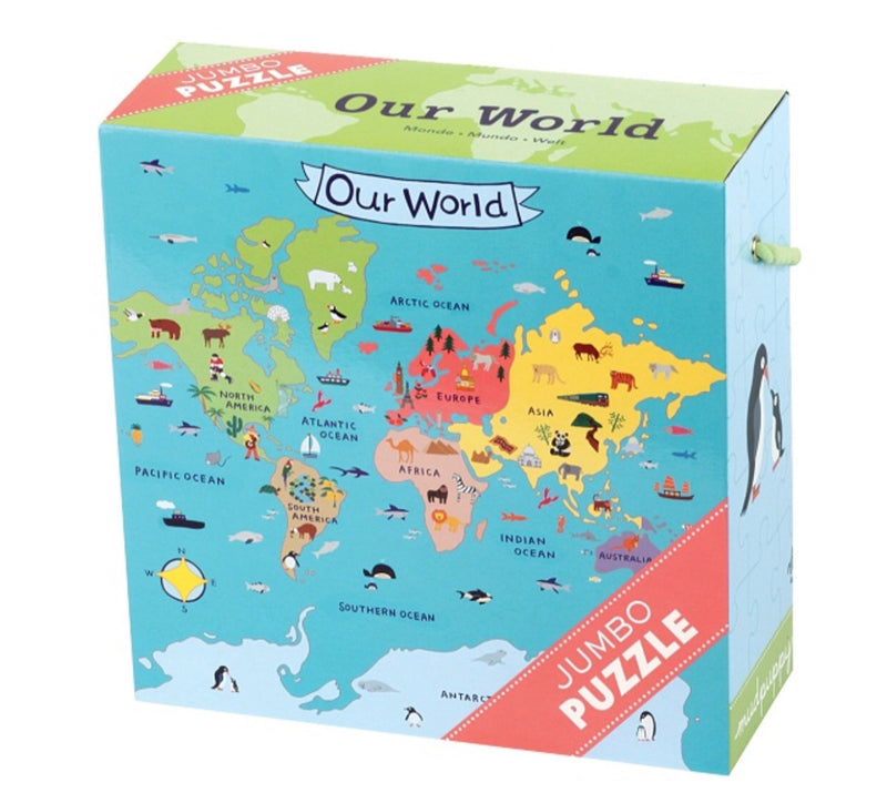 Jumbo Puzzles-our world