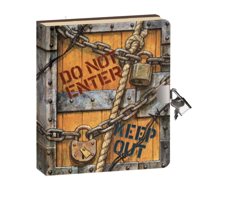 Lock and Key diary-secret