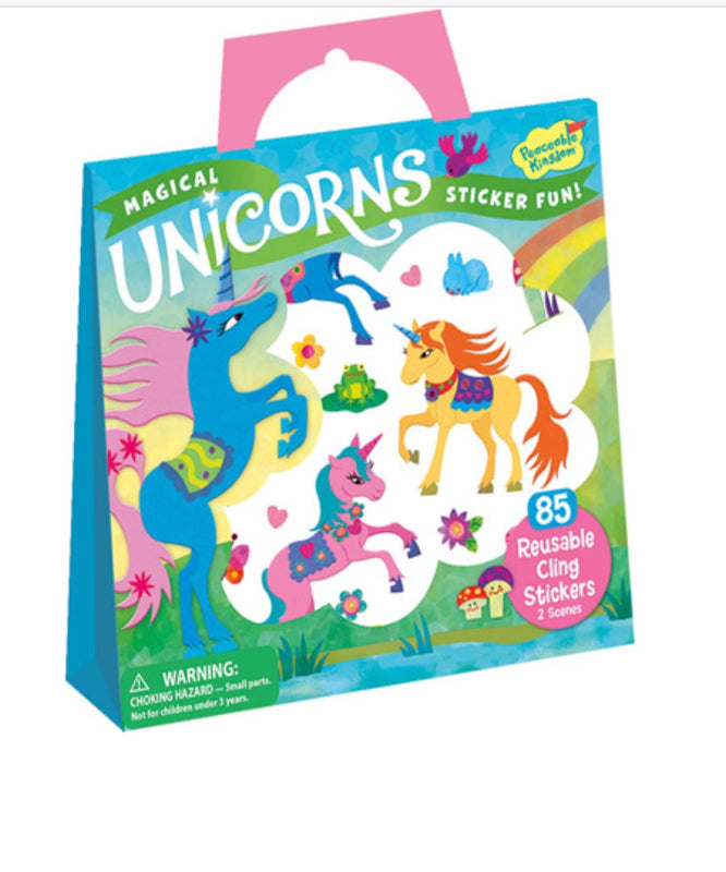 Sticker activity Magical Unicorns