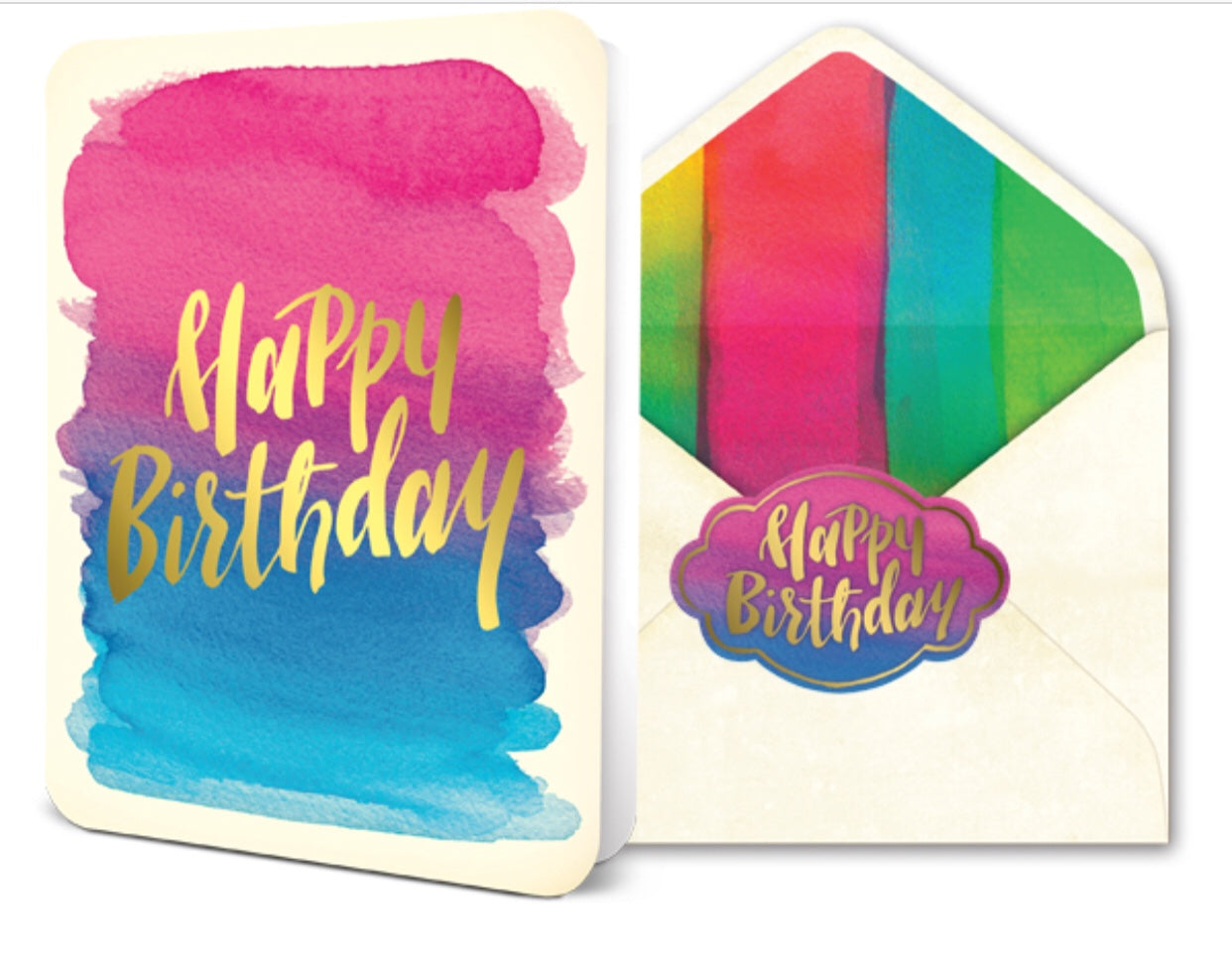 STUDIO OH- Greeting Card | Foil Happy Birthday