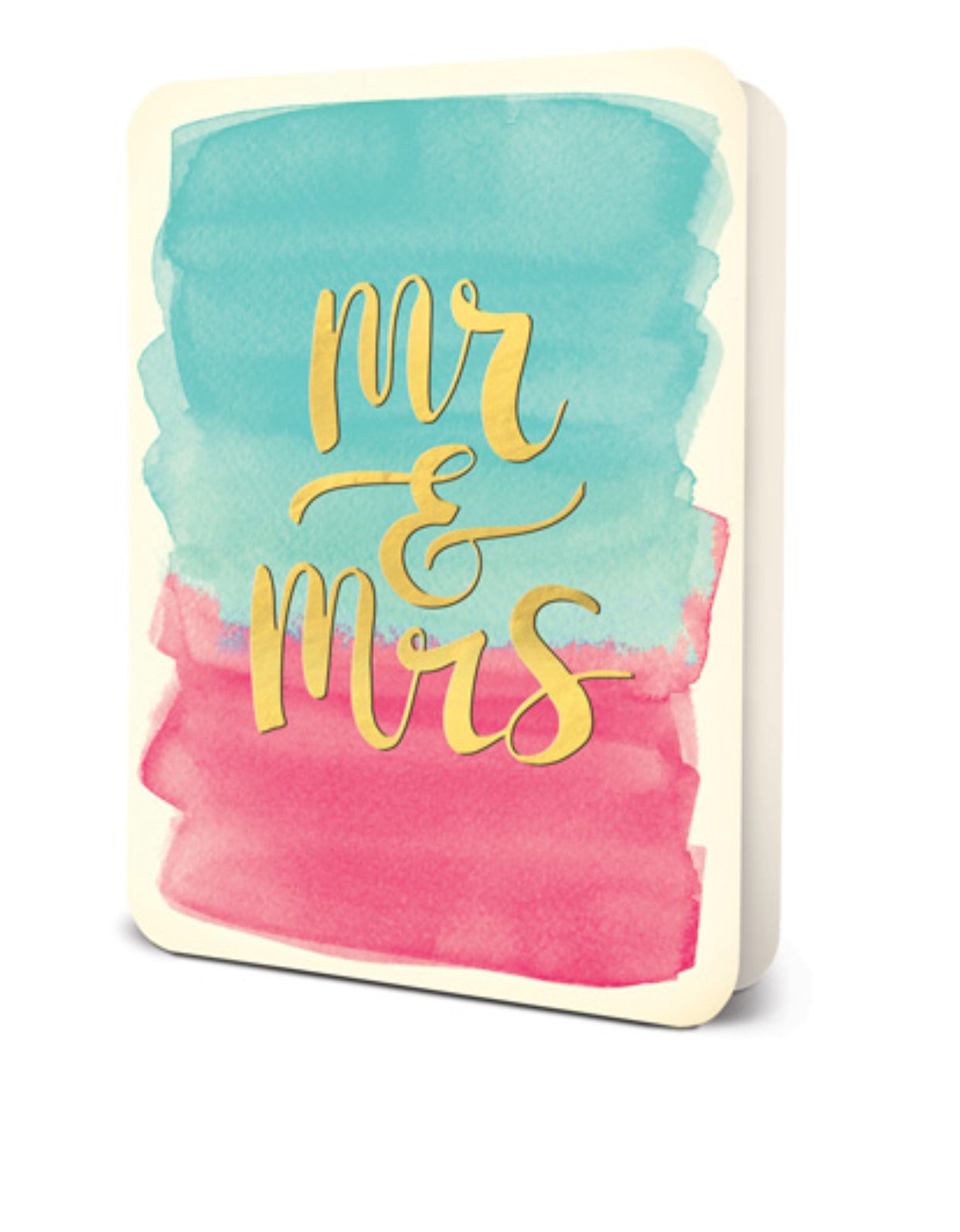 STUDIO OH- Greeting Card | Mr & Mrs
