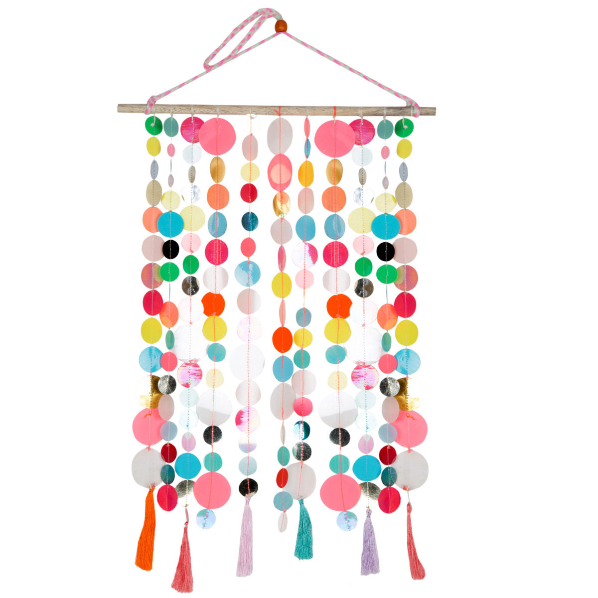 Multi Sequins Wall Hanging