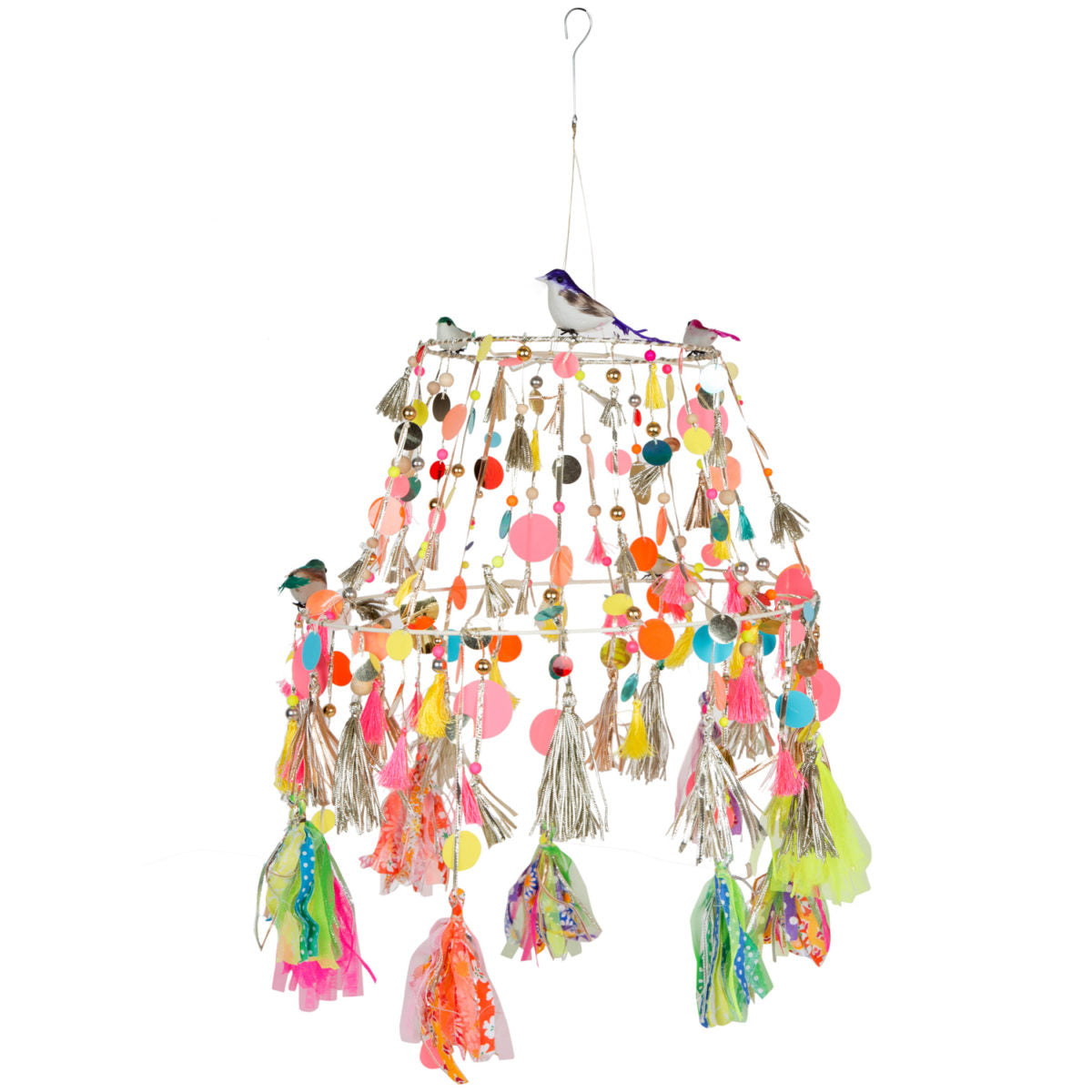Multi Birdy Folding Lampshade