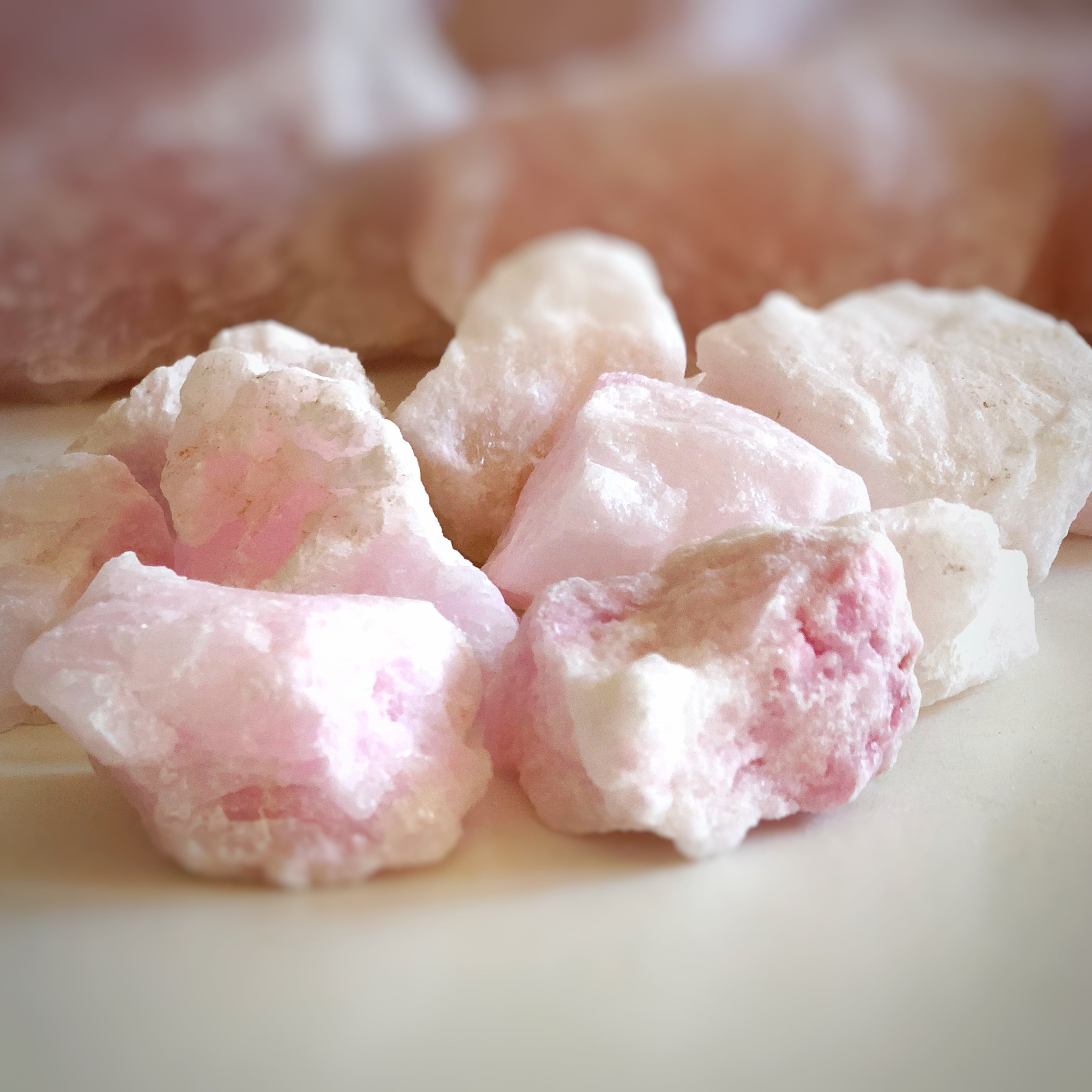 LITTLE PAPER LANE CRYSTALS- Raw Pink Argonite $6