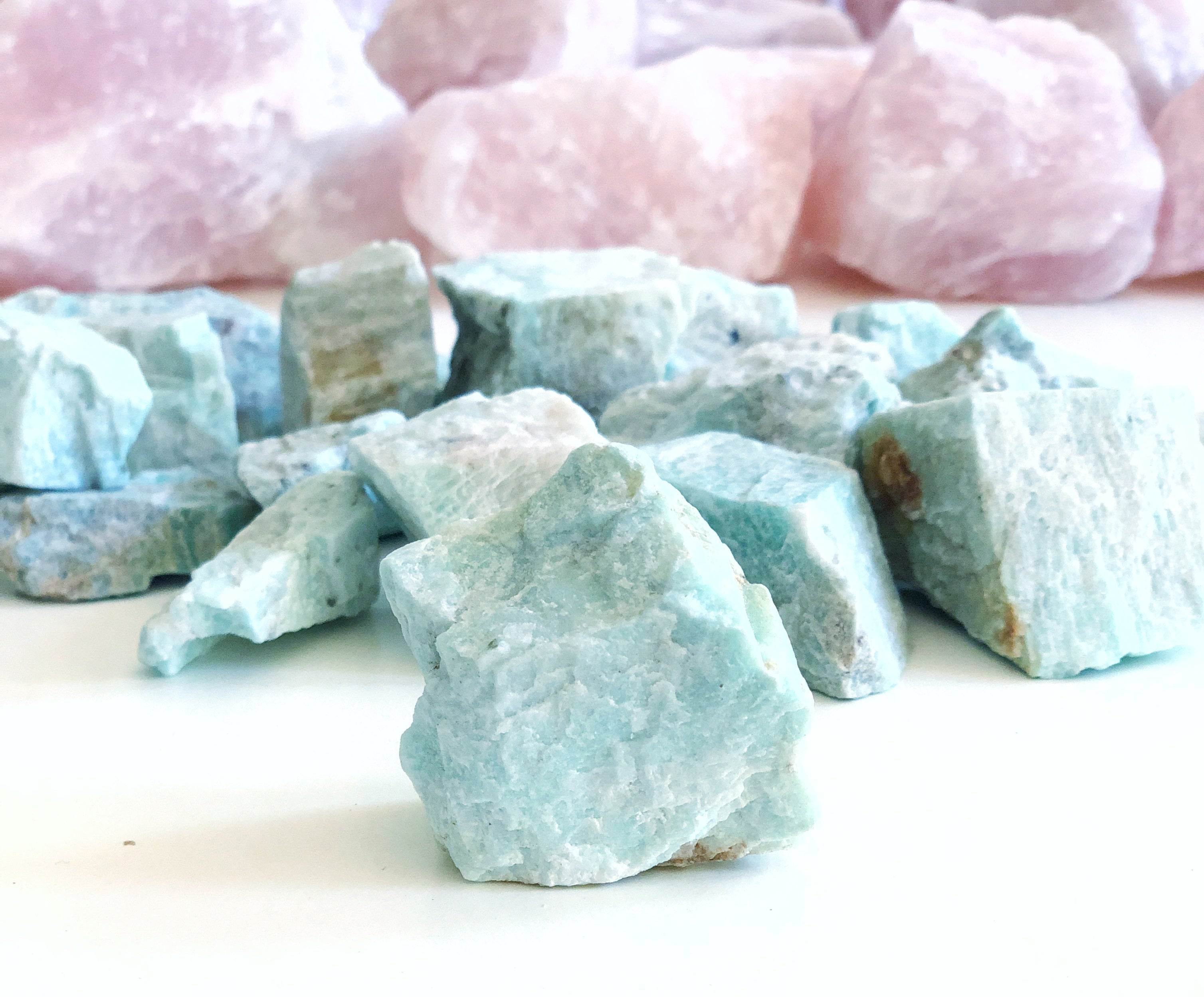 LITTLE PAPER LANE Crystals- RAW Amazonite $5