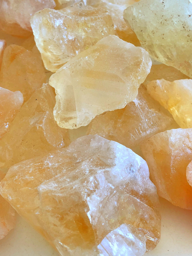 LITTLE PAPER LANE Crystals- Raw Citrine $6