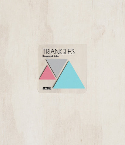 Sticky Notes - Pack of 3 - Triangle- Mint