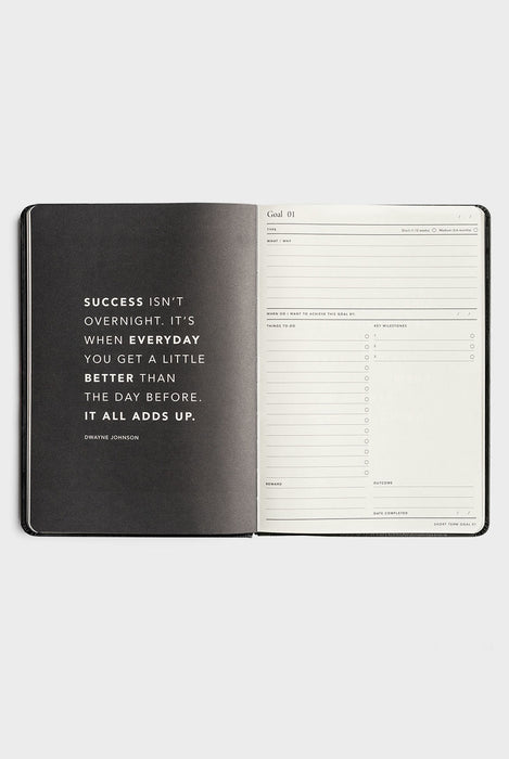 MI GOALS Goal Digger Hard Cover 2018 Daily Diary