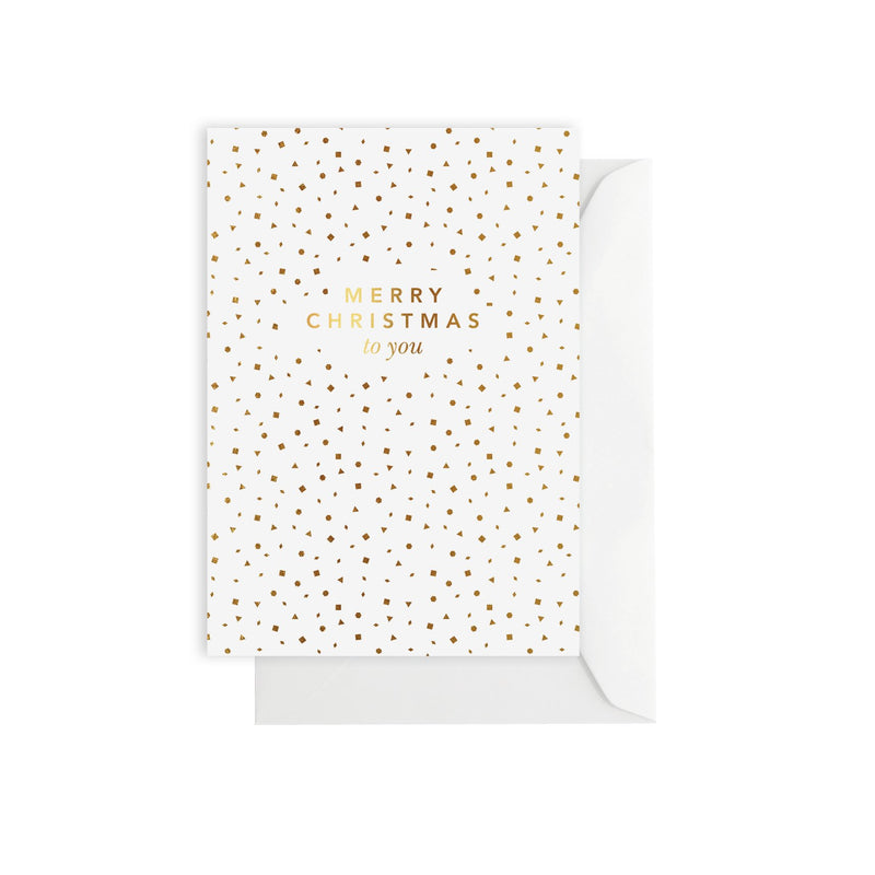 ELM PAPER- SPARKLE MERRY CHRISTMAS Card