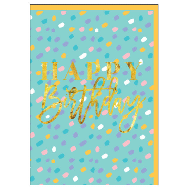 CANDLEBARK Minty Birthday card
