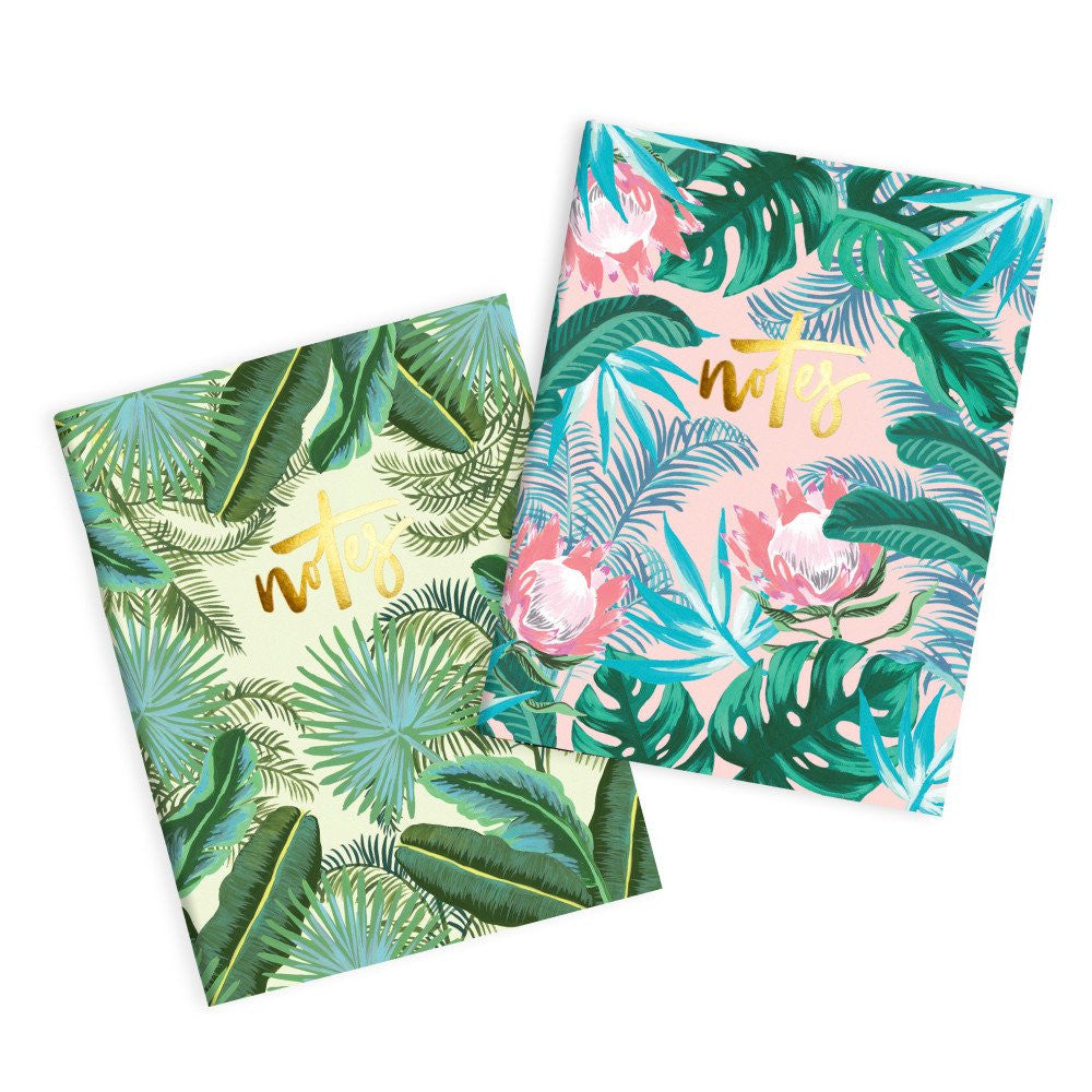 Fox & Fallow Protea Pocket Notebook (2 pack)