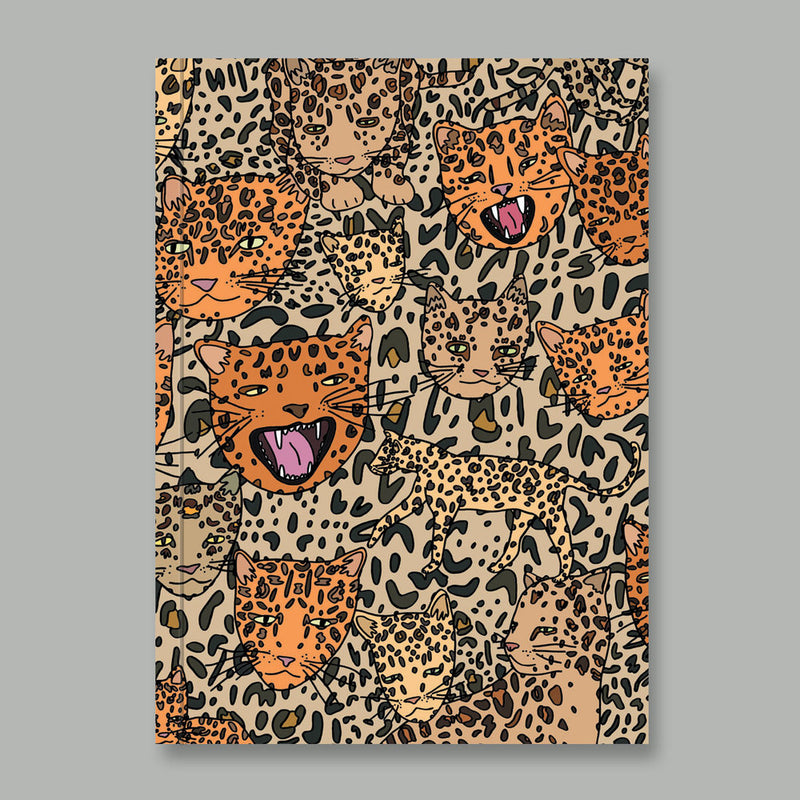 AHD Notebook- Lots of Leopards
