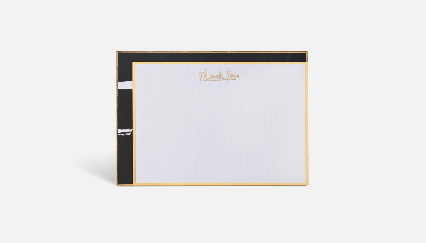 Blacklist Note Card Set-Thank You