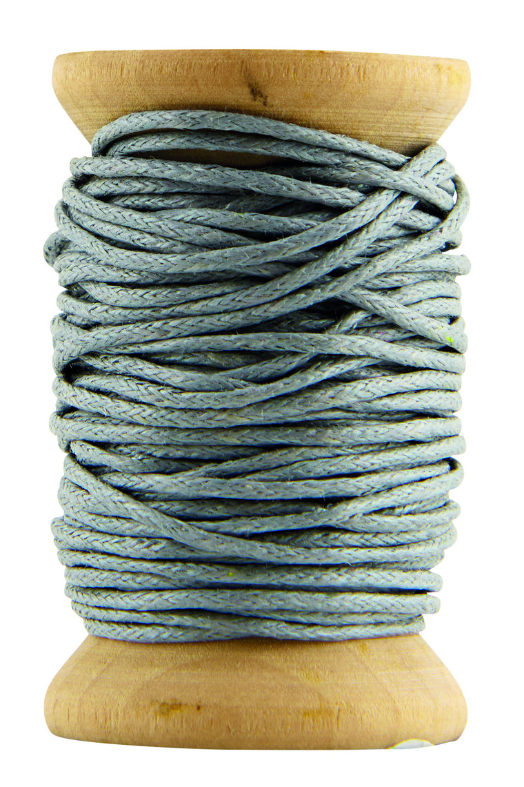 HOUSE DOCTOR  Waxed Cord-Sky Blue